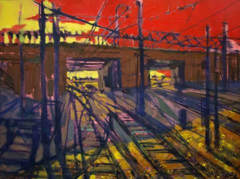 """Sun set"" by Vartan Markarian – 80x60cm 2012"
