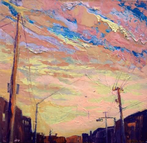 """I am dreaming"" by Vartan Markarian – 100x100cm 2015"