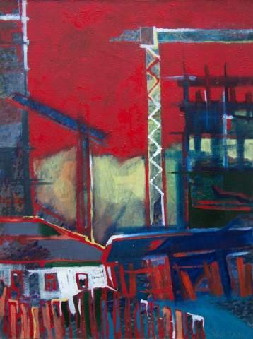 """Urbanization"" by Vartan Markarian – 60x80cm 2013"
