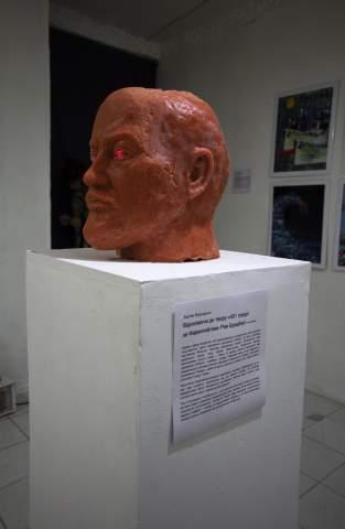 """Вартан Маркарьян – """"451°"""", 100х100см 2019"""